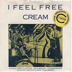 Cream  - I Feel Free / Badge download